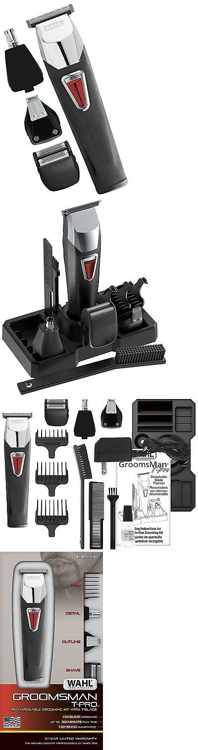 Shaving: Wahl Beard And Mustache Trimmer Body Grooming For Men Best Nose Hair Trimmer New BUY IT NOW ONLY: $37.95
