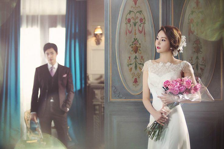 Korean Studio Pre-Wedding Photography: 2016 Romantic Vintage Collection  by Bong Studio on OneThreeOneFour 7