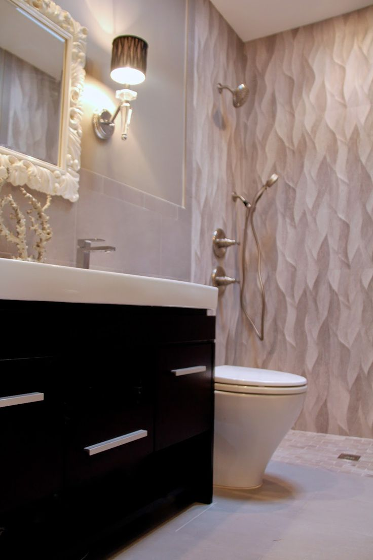 14 Best Wavy Tile Images On Pinterest Bathroom
