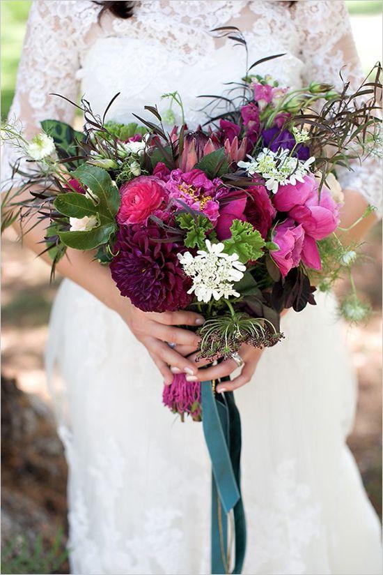 Boho plum pretty wedding. Captured By: Katie Beverley #wchappyhour http://www.weddingchicks.com/2014/09/26/boho-pretty-plum-wedding/