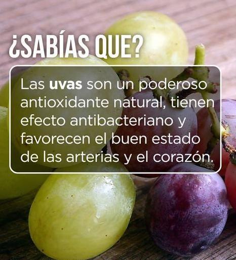 Conoce más sobre los beneficios de las uvas y los frutos de temporada en... http://www.1001consejos.com/frutas-de-otono-y-sus-beneficios/