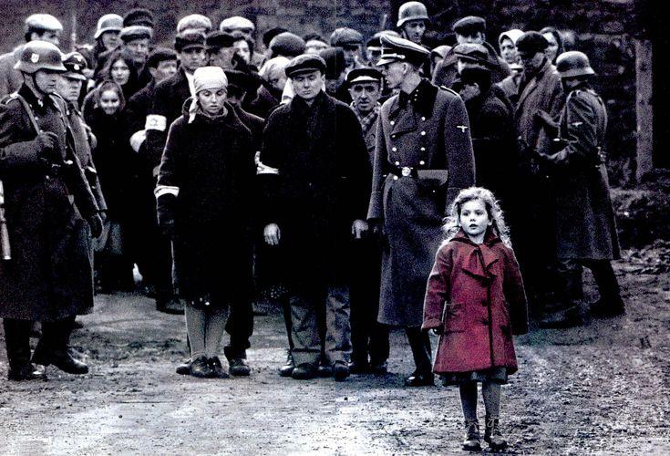 La liste de Schindler - La petite fille au manteau rouge