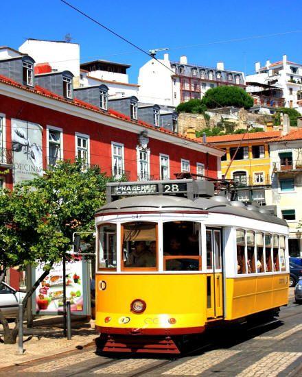 lisbona tram storico di lisbona