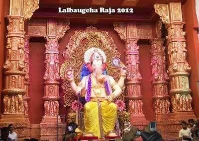 Lalbaugcha Ganesh Image 2012