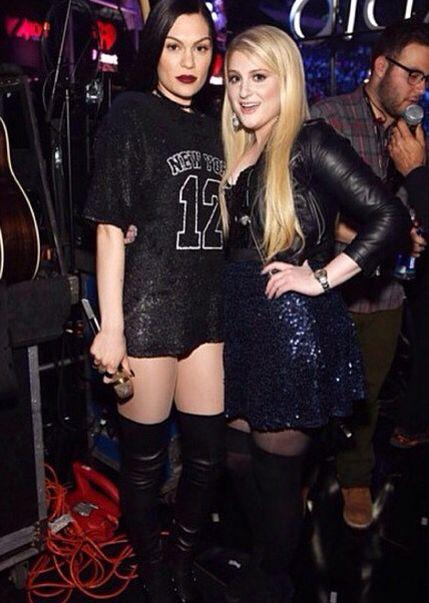 Meghan Trainor and Jessie J