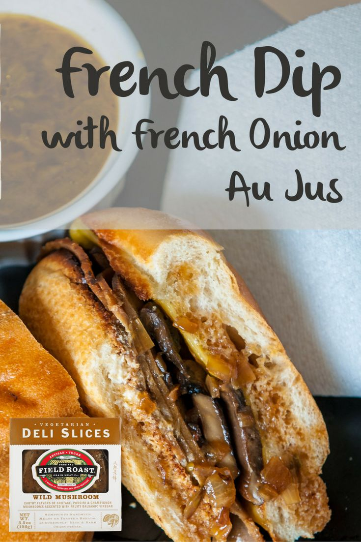 Delicious and juicy hot sandwich classic!  Use our Wild Mushroom Slices to make the perfect vegan French Dip.
