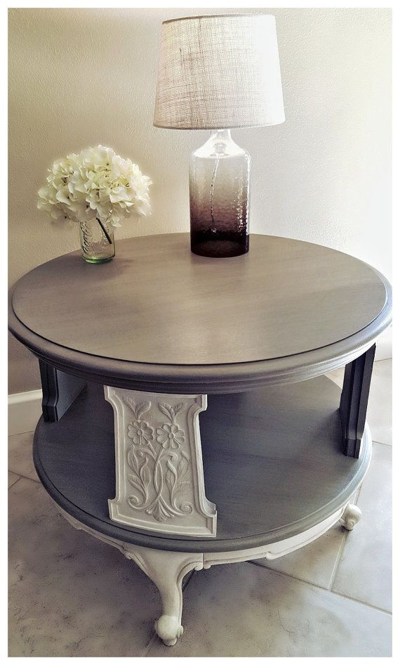 Hey, I found this really awesome Etsy listing at https://www.etsy.com/listing/259313301/weiman-2-tier-round-vintage-side-table