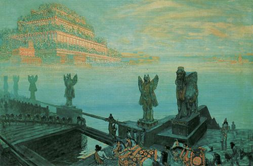 "le-piment-des-abeilles: "" Babylon (1906) - Frantisek Kupka """