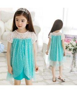 Frozen inspired sparkle nightdress