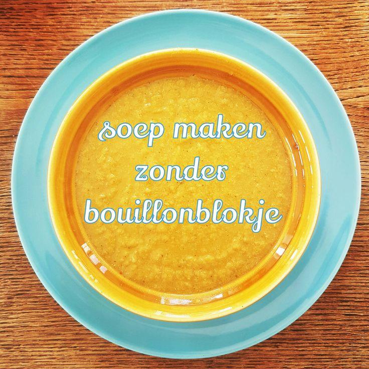 Recept: soep maken zonder bouillonblokjes, met veel verstopte groente voor kinderen #leukmetkids #watetenwevandaag #recept