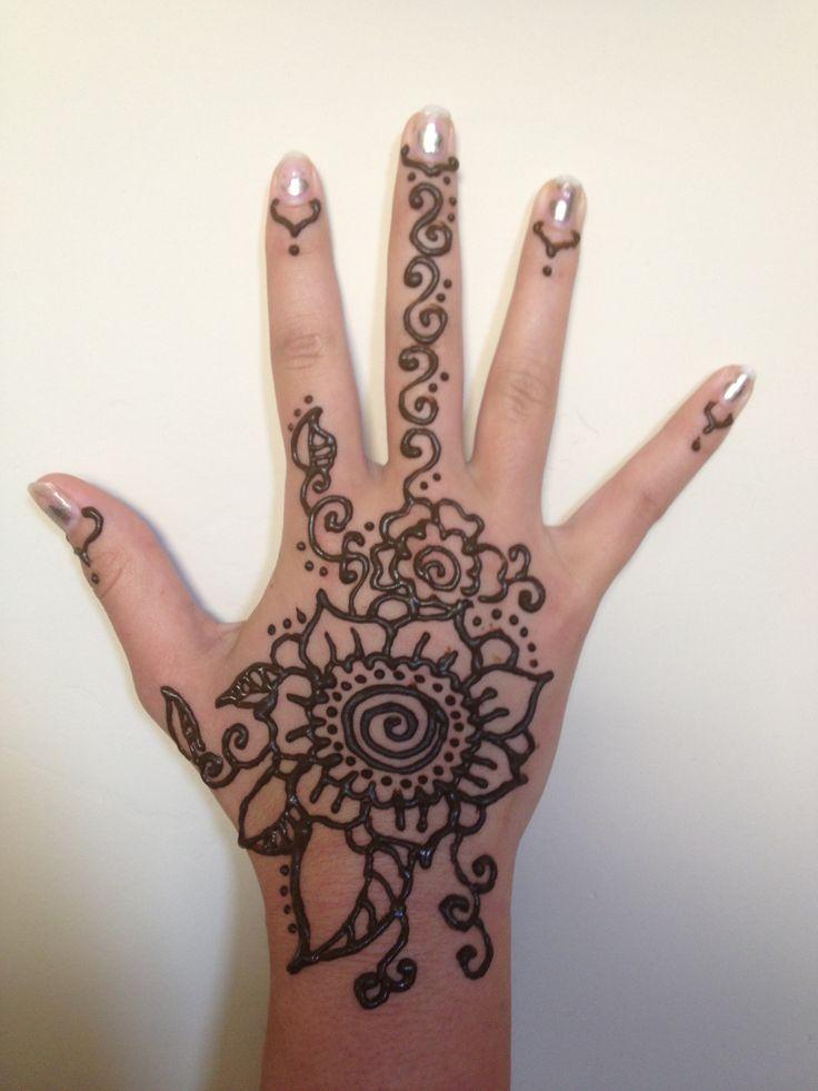Henna Hands Art Lesson Makedes Com