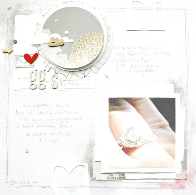 purplemailbox.com: A Doily Stamped Embellishment Finishes Things Off...