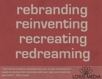 Rebranding - Lotus Media