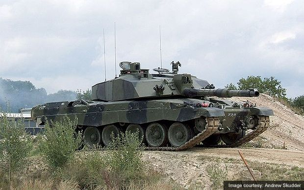 Challenger 2 Main Battle Tank, United Kingdom  A British Army Challenger 2 main battle tank.