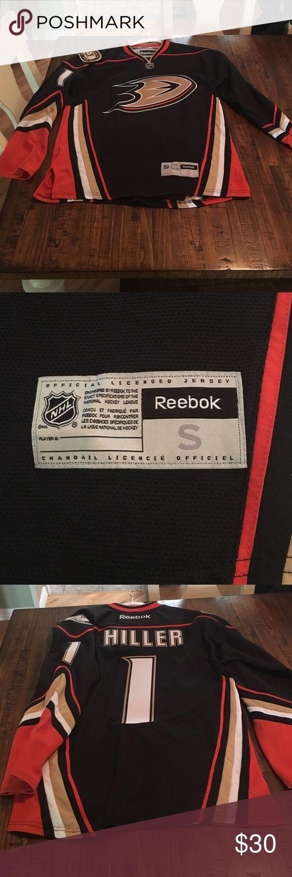 Jonas Hiller Anaheim Ducks Jersey Ducks Home Jersey. Worn less than five times. Like new condition. Size S. Reebok Other