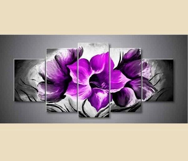 17 images about triptyque on pinterest design deco and for Peinture violette