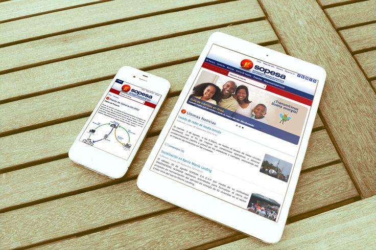 Diseño Responsive - Sitio Web Sopesa