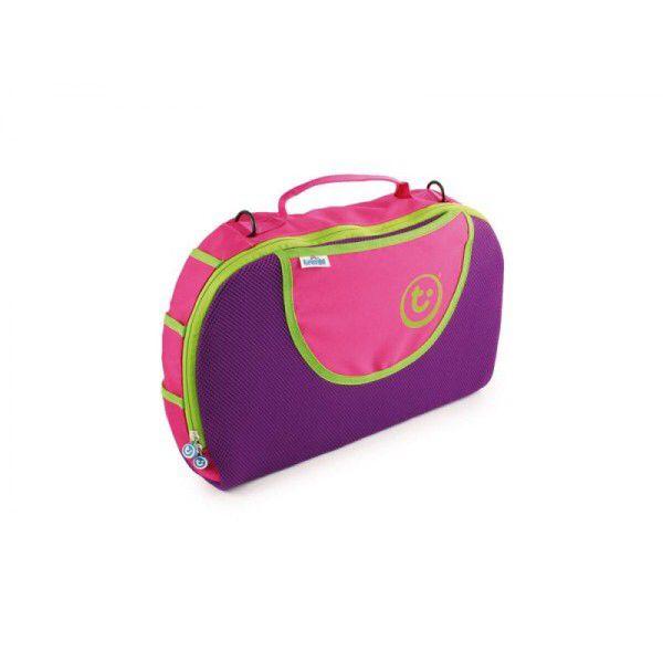 Ook een mooie accessoire is deze tas.