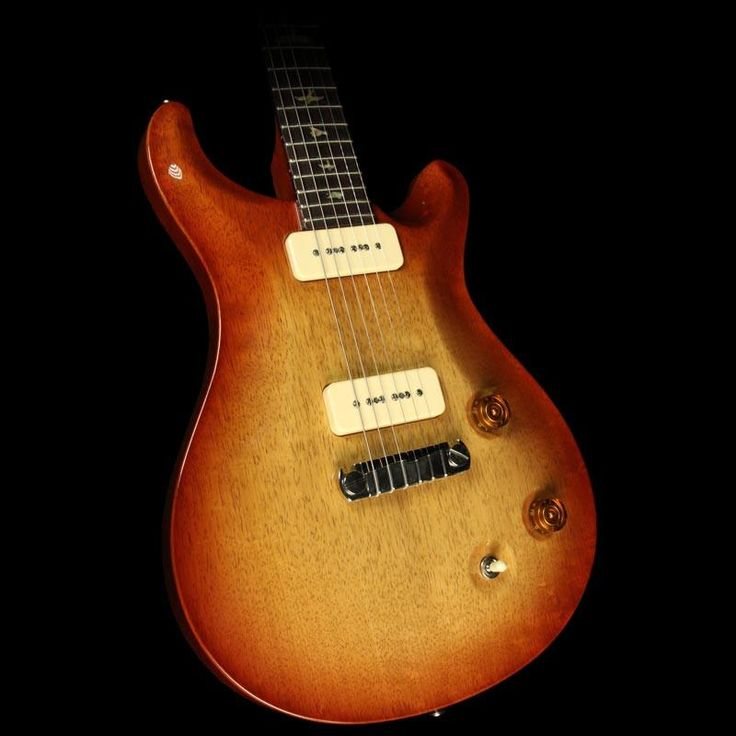 Used 2007 Paul Reed Smith Korina McCarty Soapbar Electric Guitar Cherry Sunburst  with Brazilian Rosewood Fretboard