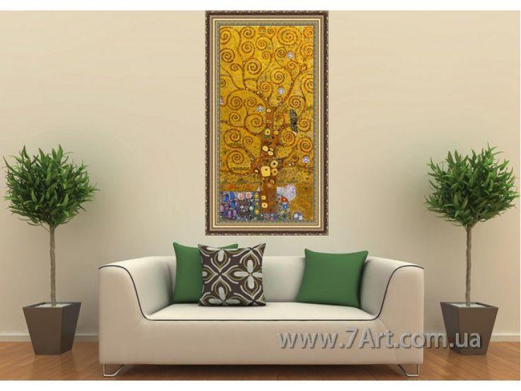 Дерево Жизни, Климт, известные картины, картины известных художников, самы известные картины, известные художники