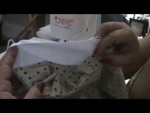 Montando uma manta e duas almofadas com apenas um kit de tecidos - YouTube
