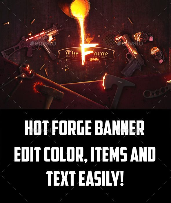#Hot Forge #Gaming #Cover - #YouTube #Social #Media