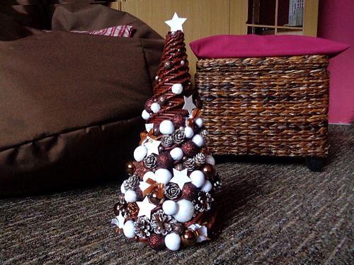 Pletený vánoční stromeček :)