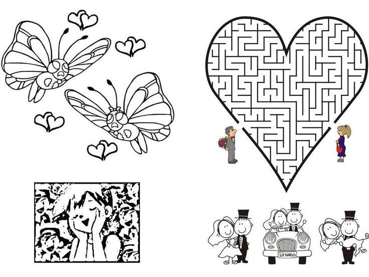 Les 25 meilleures id es de la cat gorie coloriage mariage sur pinterest coloriage secret motif - Coloriage mariage a imprimer ...