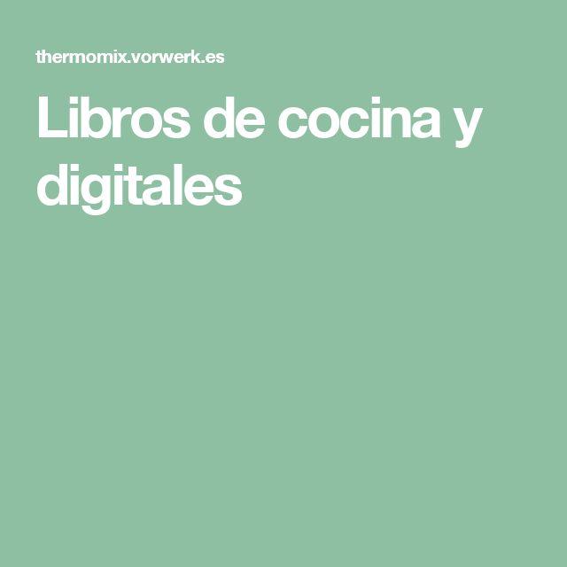Libros de cocina y digitales
