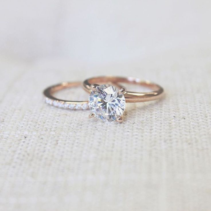 Traditional Solitaire Engagement Ring   Bryllup ...
