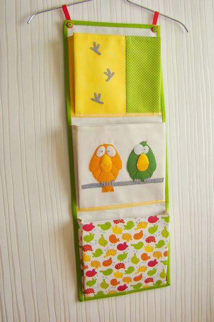 textileinterior: bolsos para o jardim de infância