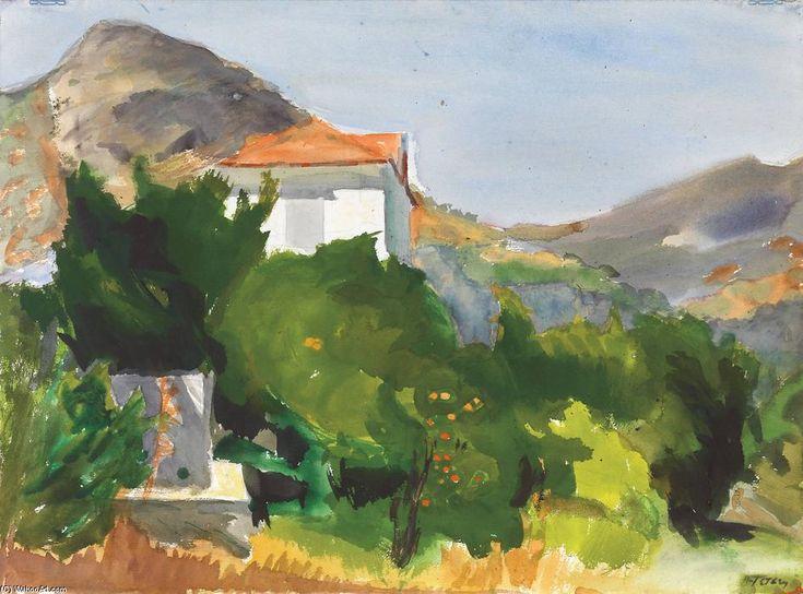 'Landscape' by Panayiotis Tetsis