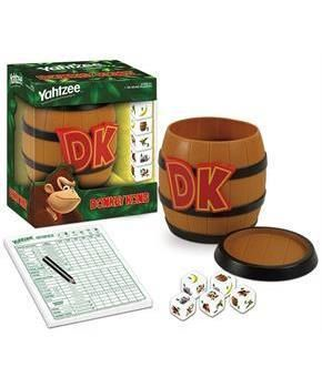 Donkey Kong Collector's Edition Yahtzee Dice Game for Christmas
