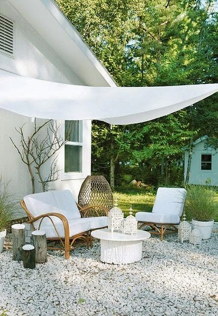Simple Outdoor Room
