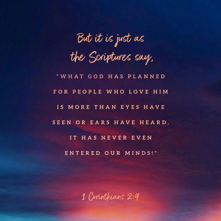 1 Corinthians 2:9 ✨|| To see more follow @Kiki&Slim