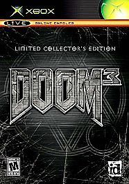 DOOM 3: **LIMITED COLLECTOR'S EDITION ** ***BRAND NEW GAME SEALED*** XBOX