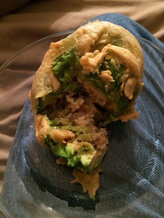 """Deep Fried Stuffed Avocado! """"""""  @allthecooks #recipe"""