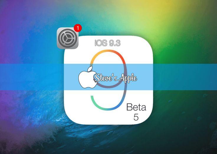 iOS 9.3 Beta 513E5225a Follow@Stevenin_Elmasi iPhone iPhone 4[S] – Model A1387, A1431 iPhone 5 (GSM) – Model A1428 iPhone 5 (Global) – Model A1429, A1442 iPhone 5c (GSM) –…
