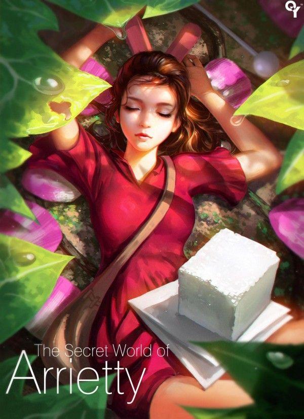 Fanart Arietty par Liang Xing