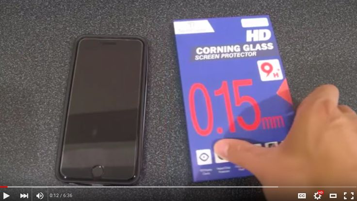 Videos shows the iphone 6 with our HD Corning Gorilla Glass Screen Protector,Thickness of 0.15mm,9H Surface Hardness, Oleophobic Glass Surface to Maintain Original Touch Sensitivity - Premium Corning Glass Film with 2.5D Curved Edges – Anti-Scratch, Anti-Glare, Fingerprint-Proof,and Water Resistant to protect your iPhones. Watch it on Youtube: https://www.youtube.com/watch?v=A5KKmA206qc