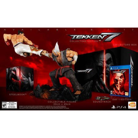 [Walmart] Tekken 7 Collector's Edition for PS4 ($59.96 - perhaps price error for now as it's $150 on GameStop/Best Buy etc.)