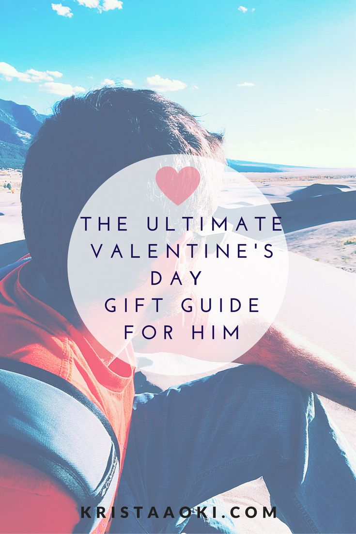 Valentine's Day Gift Guide for Him @ kristaaoki.com, a lifestyle & travel blog