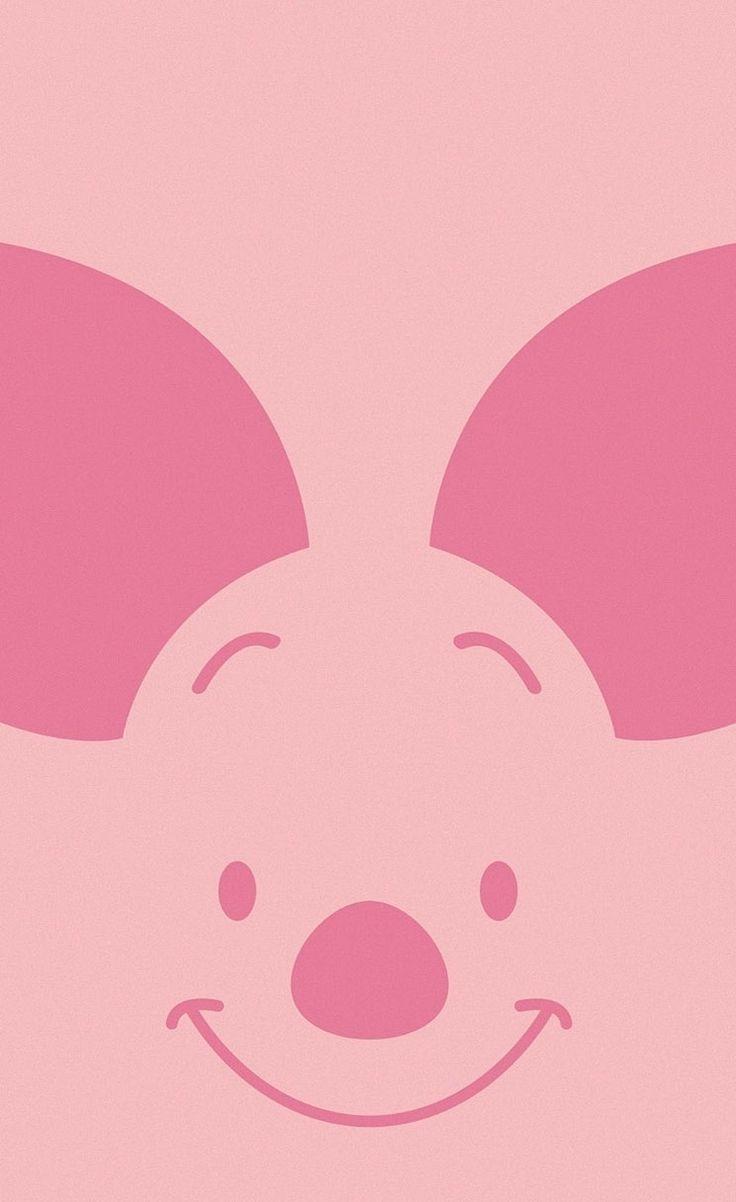 Winnie The Pooh - Pigleet - cute #bigface iPhone wallpaper @mobile9