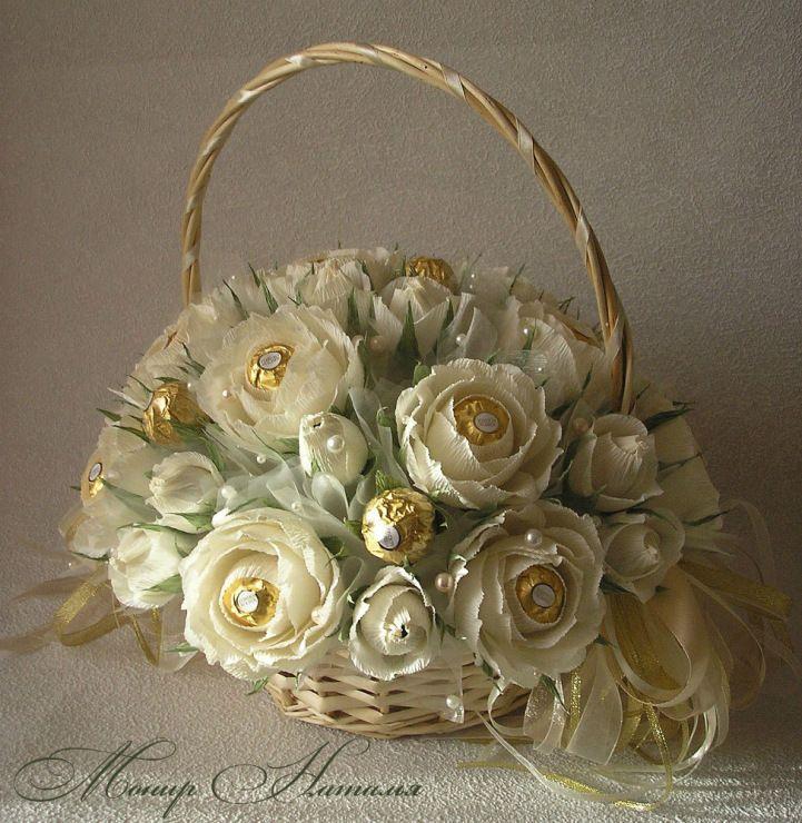 Gallery.ru / Фото #76 - Свадебные букеты из конфет - monier