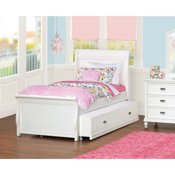 Costco Cafekid Alexia Twin Trundle Sleigh Bed Favoite