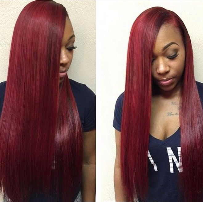 Red Hairstyles Unique 76 Best Hair Color Inspirations Images On Pinterest  Hairdos Hair