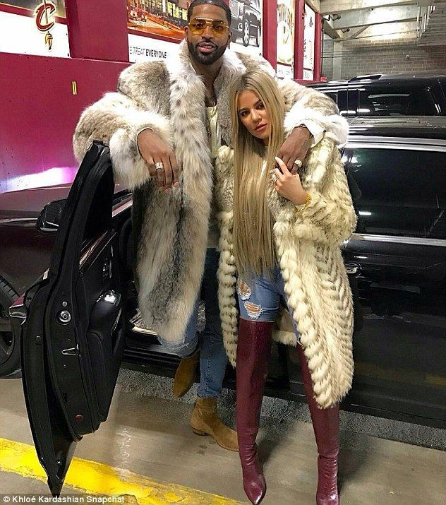 Christmas with her boo: Soon after the party Khloe jetted to Cleveland to spend Christmas ...