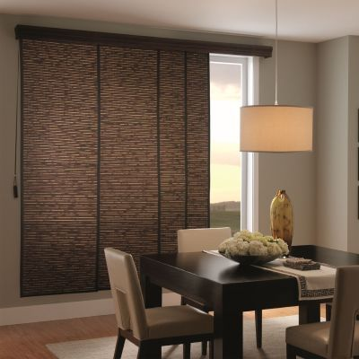 Choose Bali Woven Wood Sliding Panels From Blinds.com To Bring A Sleek And  Modern