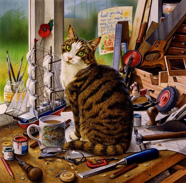 этому рецепту картинки художников рисующих котов потолки высокие