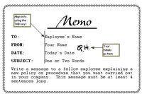 How to Write a Business Memo | eHow